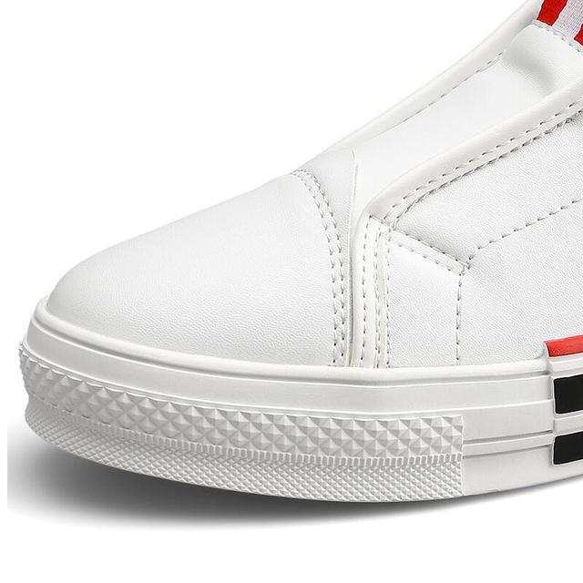 Zapatos de tabla de abeja para hombre y mujer, de Corea del Sur de diseñador de marca, informales, planos, de talla grande, Blanco pequeño, A5 6
