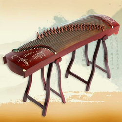 Imitación de palisandro China guhid niños profesional 125cm pequeño mini guzhou música instrumento zither con accesorios completos