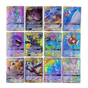 Image 5 - Pokemon Card GX Shining VMAX TAG TEAM Card TAKARA TOMY Game Battle Carte Trading Children Toy