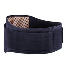 Cintura ajustável turmalina auto aquecimento terapia magnética volta cinto de apoio cintura cinta lombar massagem banda cuidados de saúde