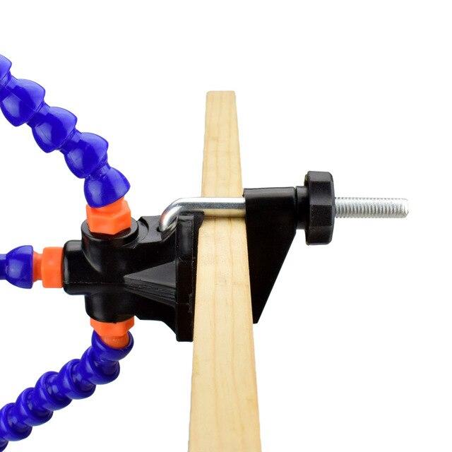 Newacalox настольная клипса pcb подставка для паяльника 3x лупа
