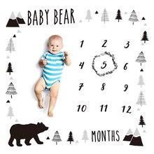 2020 новорожденный фото фон ткань цветочный принт многофункциональный фон одеяло Пеленальное Одеяло для младенца