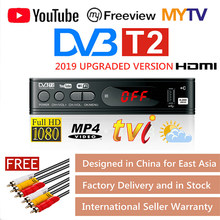 DVB-T2 Tv Tuner Vga Tv Box Dvb T2 Voor Digitale Tv Receptor Wifi Ontvanger DVBT2 DVB-C Set-Top Box h.265 Hevc AC3 Hd Dvb C Tuner(China)