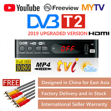 DVB-T2 Tuner tv Vga tv pudełko DVB T2 dla telewizja cyfrowa receptora odbiornik wifi DVBT2 DVB-C Set-top Box H 265 HEVC AC3 HD DVB C Tuner tanie tanio lieve ANALOG