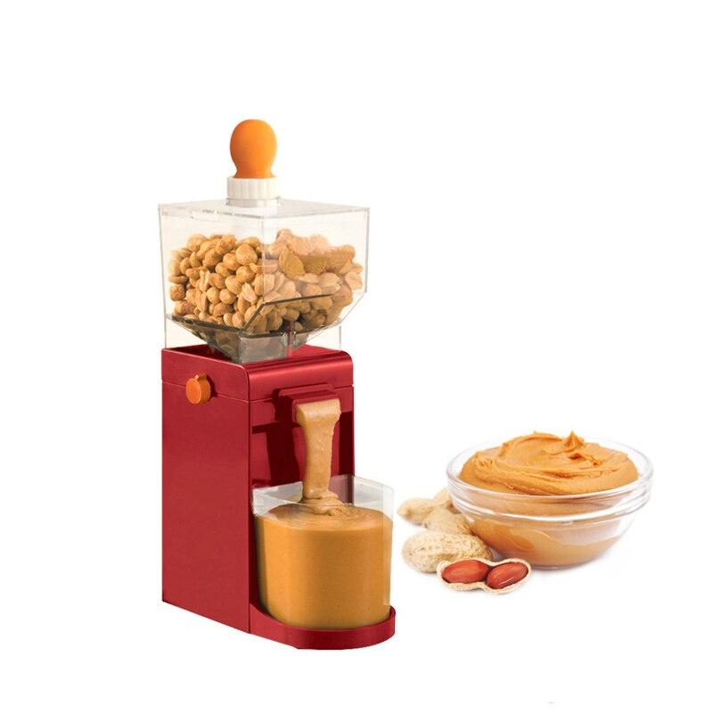 Jamielin Hot Sale Grinder Electric Making Peanut Butter Machine Coffee Grinder Mini DIY Making Peanut Grinder
