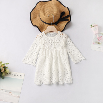 2019 mother daughter dresses solid for mommy and me clothes family look mom baby elegant dress matching outfits summer Polyester 2