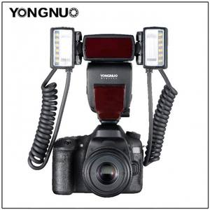 YONGNUO Ring Flash Eos-Cameras Macro Canon Adapter E-TTL EX YN24 with 2pcs 4pcs