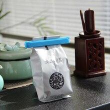 1 шт. уплотнительный пластиковый складной зажим для домашней еды, свежее хранение, зажим для хранения, многоразовая сумка для еды, портативный упаковщик