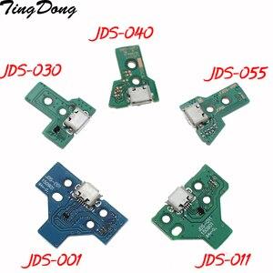 Разъем для контроллера PS4, разъем USB для зарядки, 12Pin, JDS 011 030 040 14Pin 001, разъем