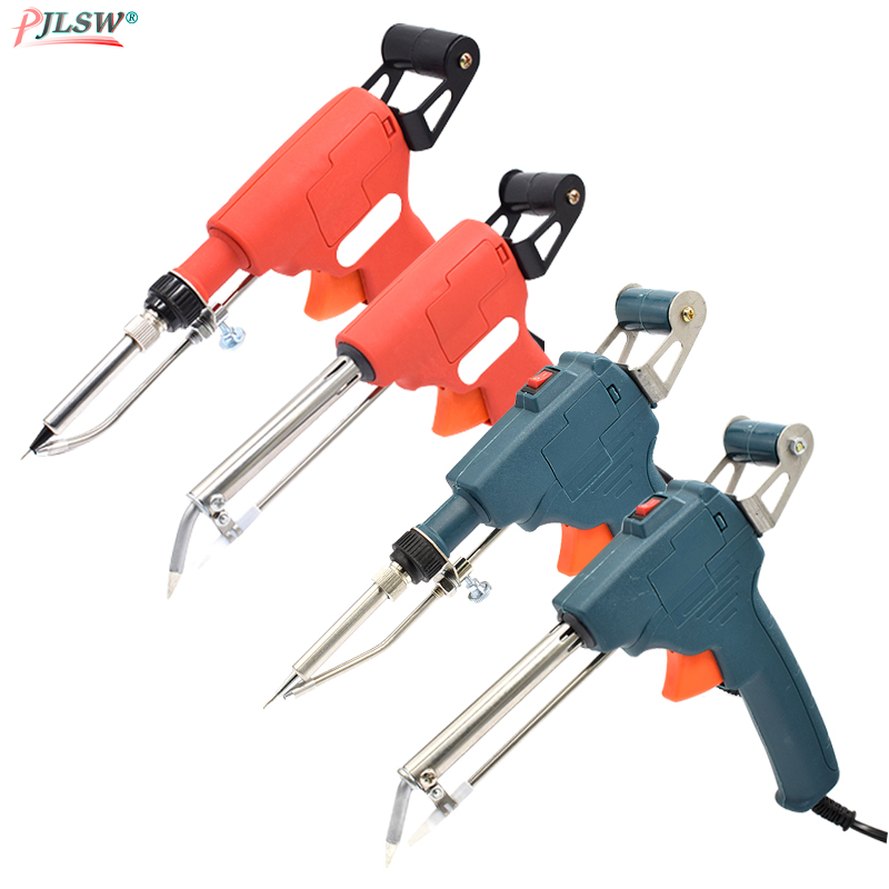 US/EU 110V/220V 60W Hand-held Internal Outside Heating Soldering Iron Automatically Send Tin Gun Soldering Welding Repair Tools