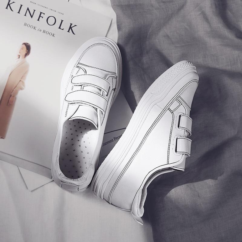 Ev ve Bahçe'ten Ayakkabı Rafları ve Organizatörleri'de Yaz INS süper yangın ayakkabı nefes bilgelik füme moda ayakkabılar beyaz ayakkabı ayakkabı kadın yeni stil 2019 bahar Online Celebri title=