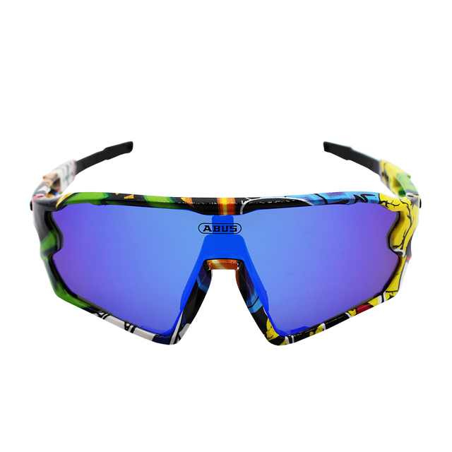 Cycling Sunglasses 3 Lens Bicycle Goggles Mountain Bike Racing Glasses UV400