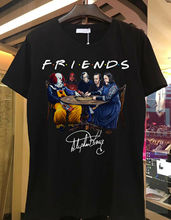 Stephen King Horror Friends Black Shirt, Movie T shirt Different Colours High Quality 100%