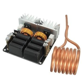 1000W ZVS Carbon Staal Veilig Stabiele DIY Iron Module Plaat Laagspanning Inductie Verwarming Board Coil Hoge Frequentie Flyback Driver