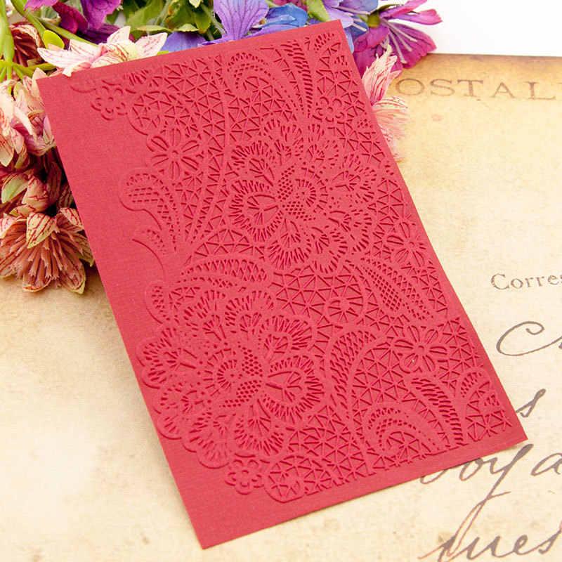 KSCRAF flores en relieve carpetas para DIY Scrapbooking papel artesanal/tarjetas que hacen suministros de decoración