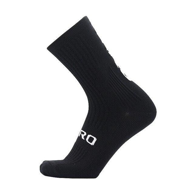 Ciclismo meias homens mulheres joelho meias altas meias de futebol correndo esportes equipe caminhadas meias de algodão sobre o joelho meias 2