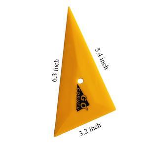 Image 2 - 5 قطعة المهنية Go Corner ممسحة مثلث حافة التوصيل سيارة التفاف الفينيل مكشطة نافذة الصبغ السيارات الرعاية اليد أدوات 5A48