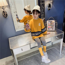 Get more info on the Fashion Girls Clothes Set Teens Girls Tracksuit Spring 2019 Autumn Long Sleeve 2pcs Children Suits Patchwork Girl Sets 4-13years