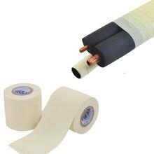 6cm x 11m pvc à prova dwaterproof água que envolve a fita isolamento do condicionador de ar tubo de cobre fita cinta de laço de fita de ar condicionado parte do reparo da tubulação