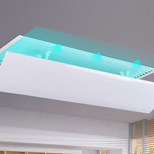 Office Adjustable Air Conditioner Cover Windshield Shield Wind Guide Bedroom  Straight Herramienta Para Aire Acondicionado