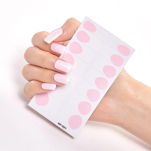 Фото наклейки для дизайна ногтей из фольги 2020 наклейки с полным