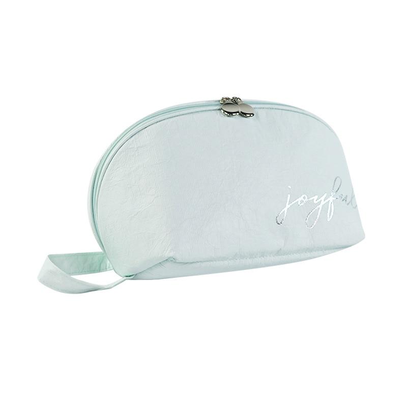 Моющая водопроводная линия DuPont бумажный дорожный набор косметичка Косметика сумка настраиваемая водонепроницаемая сумка для хранения оде... - 2