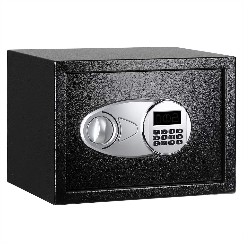 Security Safe Box 35X25X25CM Digital Depository Drop Cash Jewelry Home Hotel Lock Keypad Safety Security Box Secret Stash