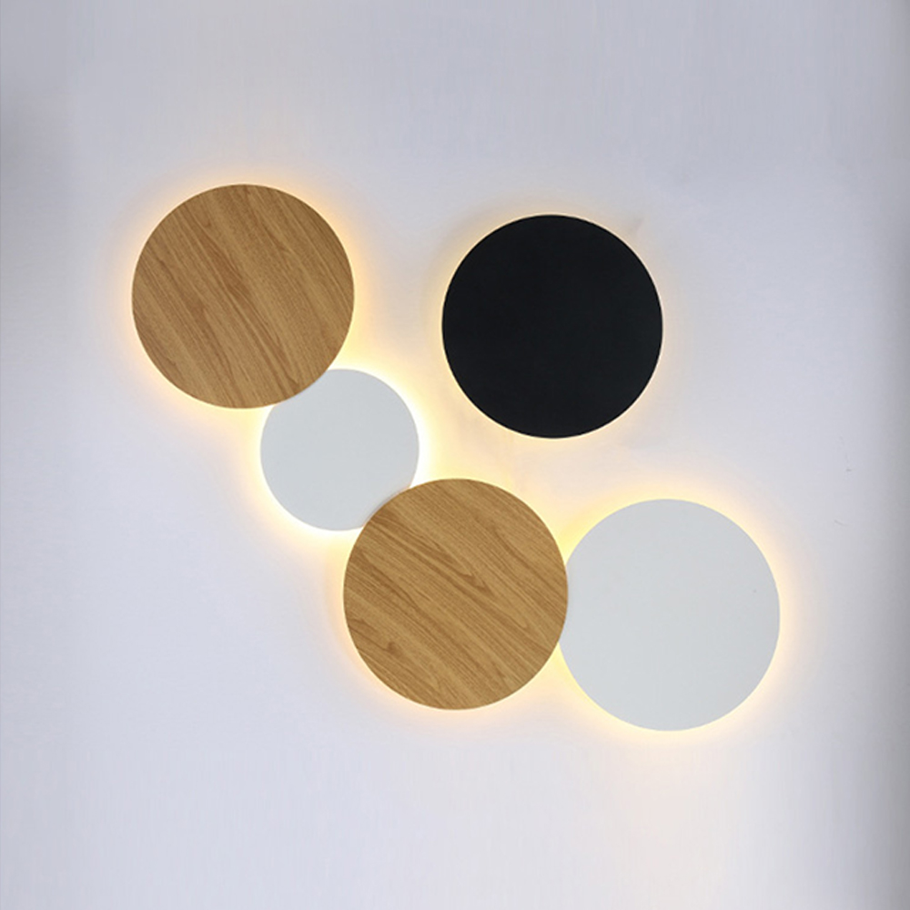 Zerouno LED Wall Light Dimmable Bedroom Bedside Wall Lamp Indoor Stair Lighting Lamp Fixture Iron And Acrylic Materials Sconces