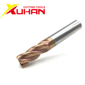 Image 2 - HRC55 Carbide end mill 1 2 4 5 6 8 10 12mm 4Flutes Milling Cutter Alloy Coating Tungsten Steel cutting tool CNC maching Endmills