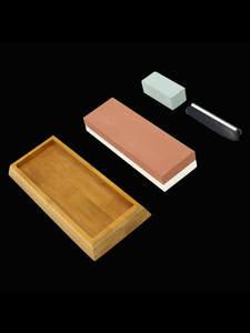 ADAEE Премиум Японский точильный камень нож точильный камень 2 стороны зернистость 1000 6000 водный камень с нескользящей бамбуковой основой и на...