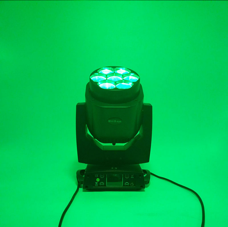 Hb82bc643816449abb24c4f6a3e1a7d46E - LED 7X18W Wash Light RGBWA+UV 6in1 Moving Head Stage Light DMX Stage Light DJ Nightclub Party Concert Stage Professional