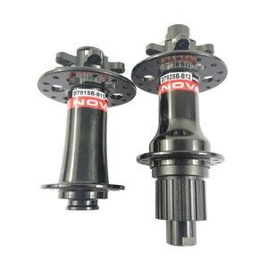 Image 4 - Novatec D791SB B15 110mm D792SB B12 148mm SHN 12 12S 12V Micro Spline 791 792 vtt 6 boulons moyeux de frein à disque moyeu de VTT
