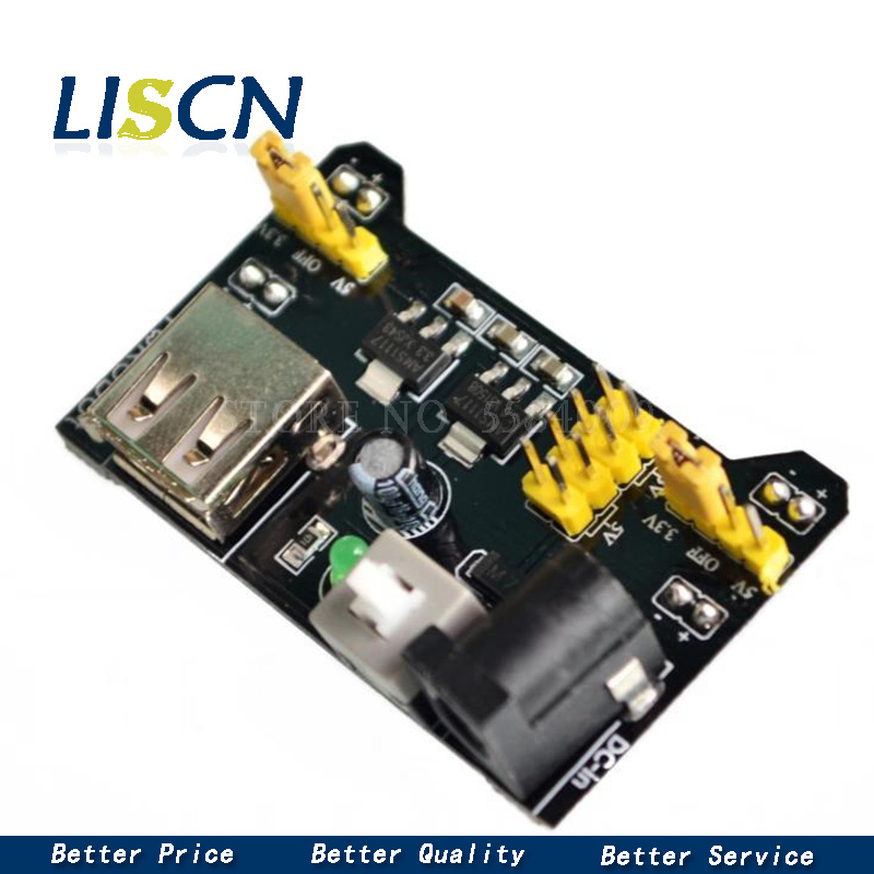 MB102 Breadboard Power Supply Module 3.3V 5V Solderless Breadboard Voltage Regulator