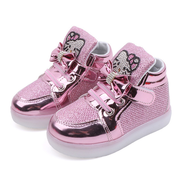 Toddler Glow in the Dark Sneakers 5