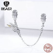 Charms Bracelets 925-Jewelry-Accessories Fairy Beads 925-Sterling-Silver BISAER Forest