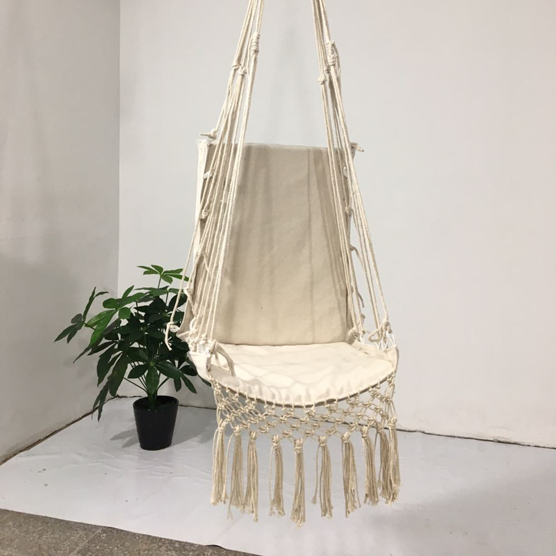 Tassel Hammock Chair Deluxe Hanging Hammock Swing Chair Swing For Single Person Kids Child Out Indoor Patio Porch Decor Aliexpress