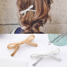 New fashion Sweet Hairpins alloy Bow Knot Hair Barrettes Girls Women Accessories Hairgrips Holder Clip