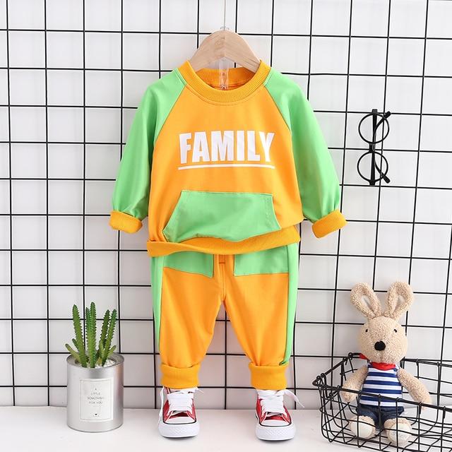 Фото модная детская весенне осенняя хлопковая одежда для маленьких цена