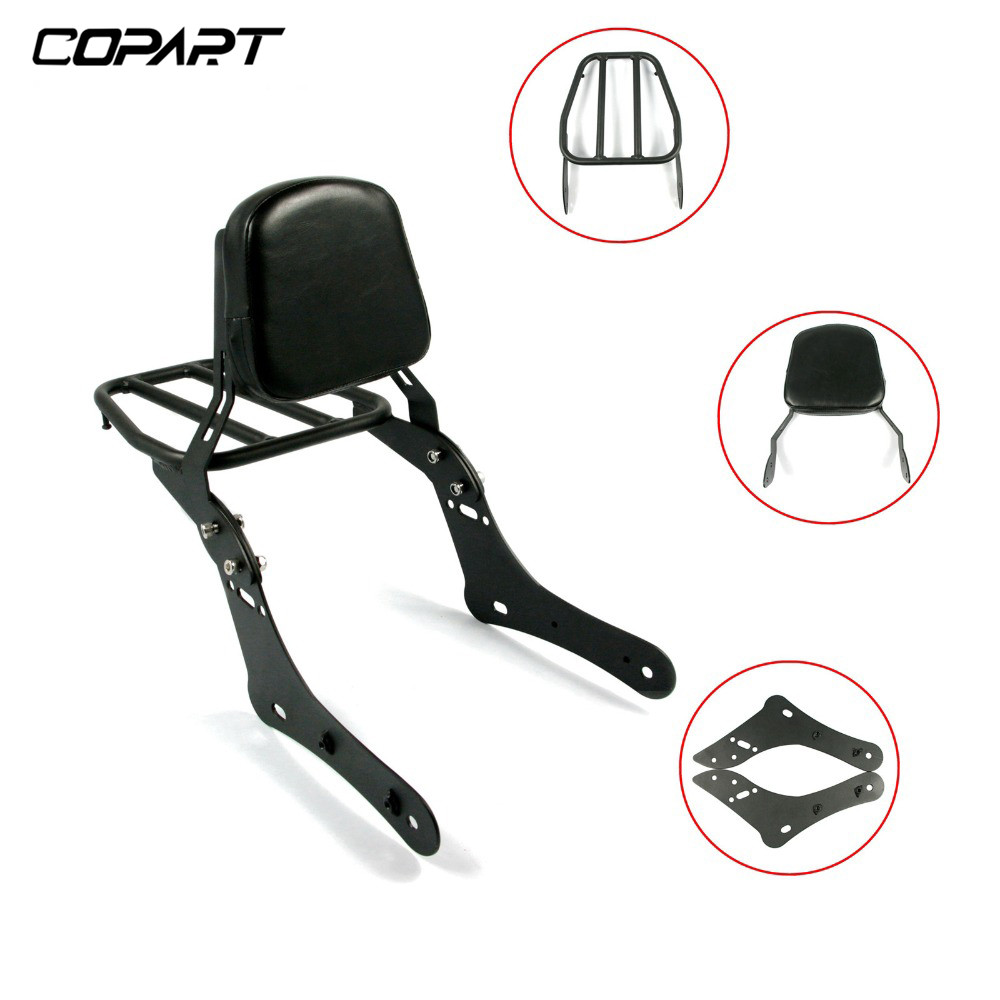 NEW Motorcycle Luggage Rack Rear Passenger Seat Backrest For Kawasaki Vulcan 650 S EN650 VN650 S650 2015 2016 2017 2018 2019