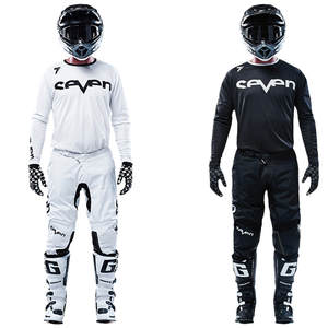 Pant Jersey-Set Top-Motocross-Kit Motorcycle Mx-Annex Seven New ATV And Black