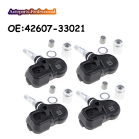 4 pcs/lot For Corolla RAV4 Yaris Avalone LEXUS CT200h RX350 RX450h Tire Pressure Monitoring System 315MHZ 42607 33021 4260733021
