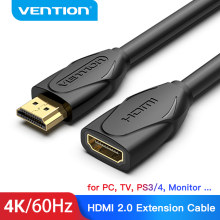 Vention Cable de extensión HDMI 4K 60Hz HDMI 2,0 Cable macho a hembra extensor para HDTV Projector Nintendo interruptor PS4/3 Cable HDMI