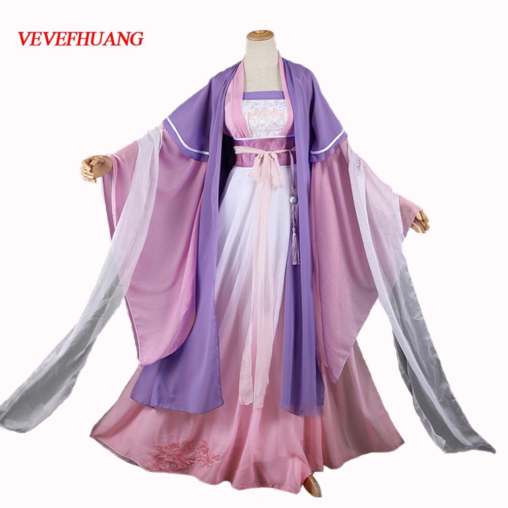 VEVEFHUANG Jiang Yan Li Mo Dao Zu Shi Young Adult Cosplay Costume Anime Grandmaster Of Demonic Cultivation Women Cosplay Costume