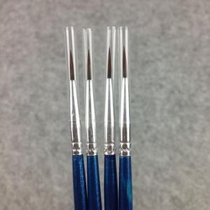 Image 3 - 100Pcs/Set Fine Thin Hook Line Nylon Pen Paint Brush Drawing Art #0 #00 #000 Watercolor Art Supplies Painting