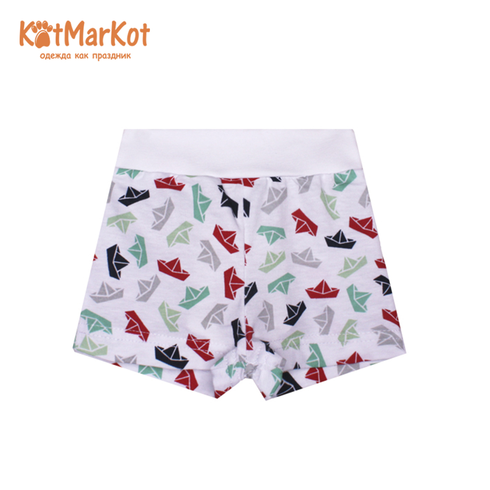 Shorts Kotmarkot 5757  for children for boys and girls clothes Cotton Boys Print boys letter print top