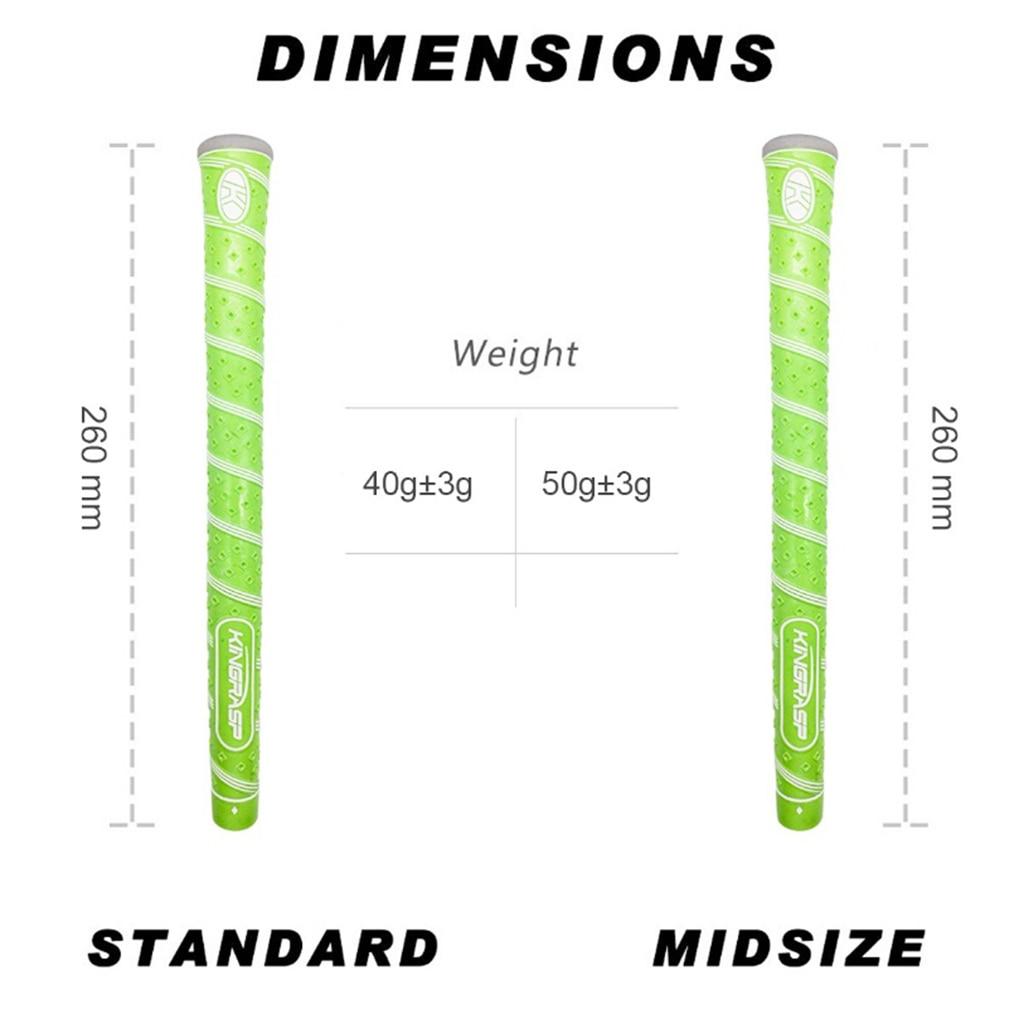 Golf Grips Clubs Grip Putter Grips Super Wearable Rubber Golf Putter Grip Standard Midsize Club Overgrip Wrap