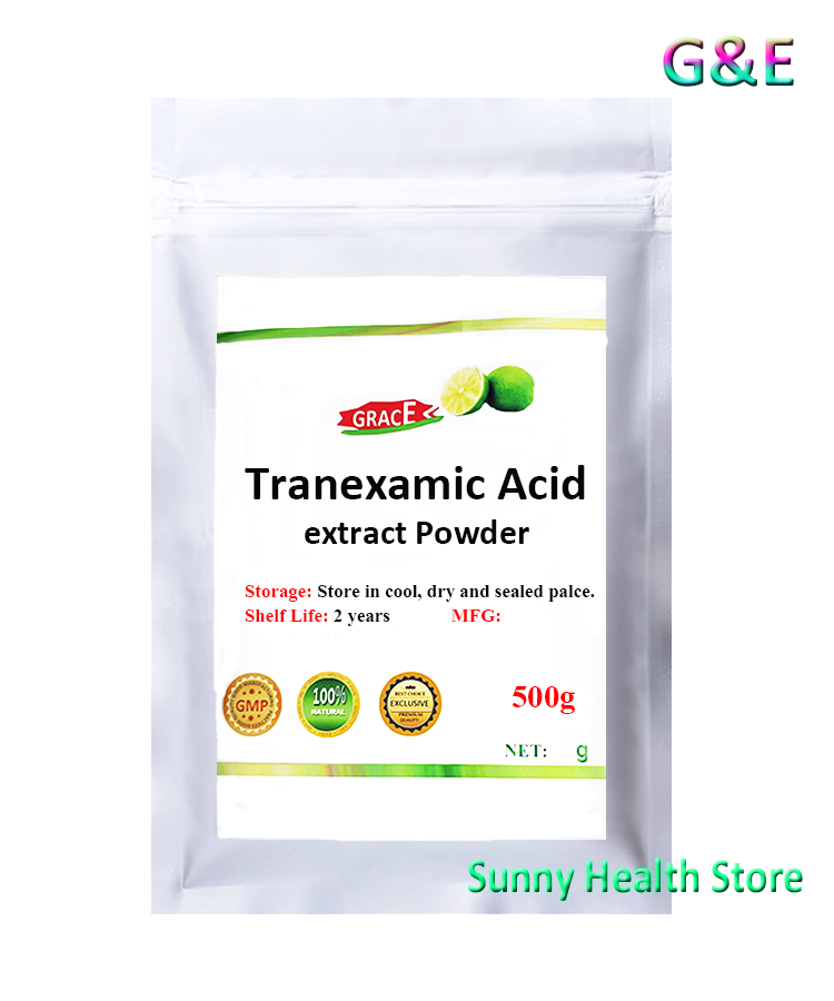 99% Tranexamic Acid Powder,ChuanMingSuan,Whitenining,Inhibition Of Melanin,Free Shipping