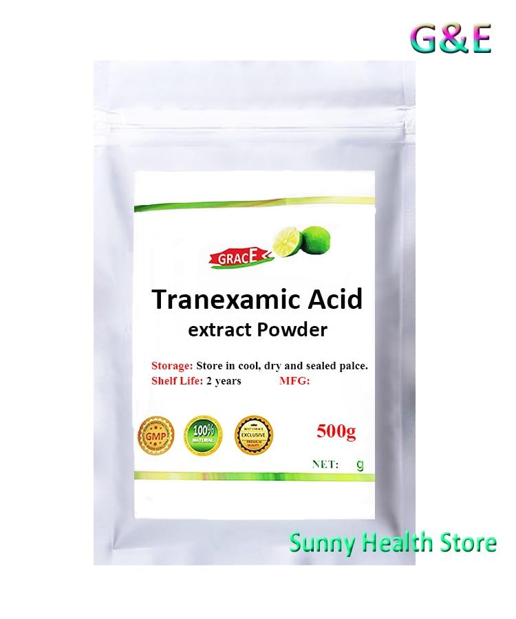 99% Tranexamic Acid Powder,ChuanMingSuan,Whitenining,Inhibition Of Melanin,Free Shipping