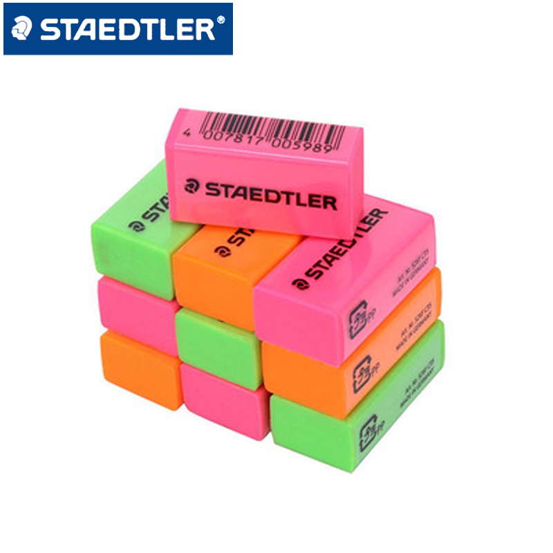 6pcs STAEDTLER 526F KP60 Colored Pencil Eraser Sketch Drawing Eraser Student Stationery School Office Supplies Pencil Erasers