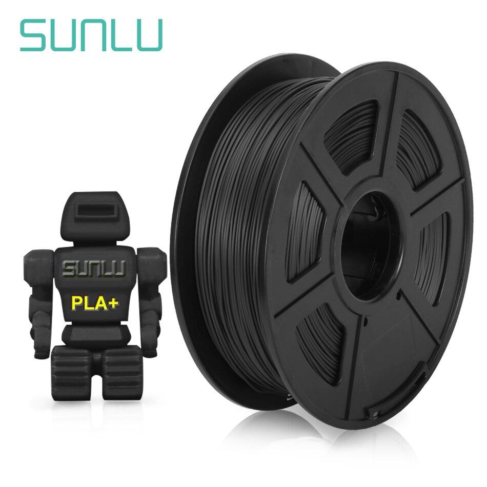 Нить PLA + 1,75 мм SUNLU для 3D-принтера, Пластик PLA PLUS, материал для 3d-печати, хорошая прочность